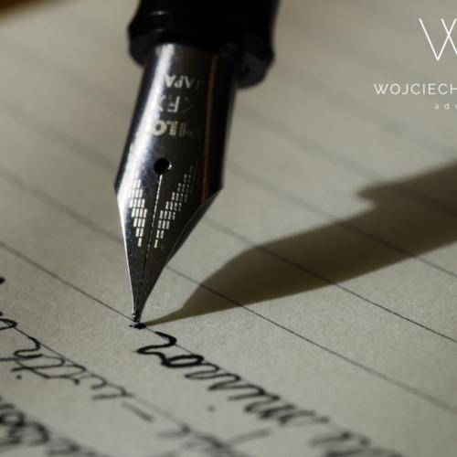 Czy testament sporządzony ręcznie jest ważny?